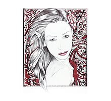 My World ~ A Beautiful Paisley Elf Photographic Print