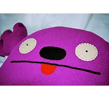 Ugly Doll Photographic Print
