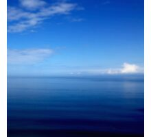Where Water Meets Sky... (A15) Photographic Print