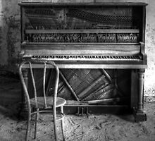 Norwich Piano, Hallet, Davis & Co from Boston Massachusetts by MJD Photography  Portraits and Abandoned Ruins
