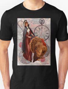 Driving Turkey Thanksgiving Steam Punk Pilgram T-Shirt