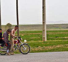 Along the Road to Tehran - Iran by Bryan Freeman