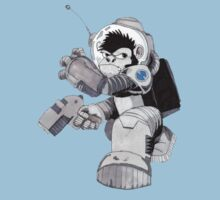 Ookie the Space Ape Kids Tee