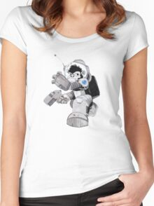 Ookie the Space Ape Women's Fitted Scoop T-Shirt