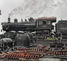 Strasburg Railway - Study I by Marilyn Cornwell