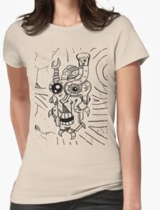Killer Robot Womens Fitted T-Shirt