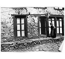 Sherpa dwelling Poster