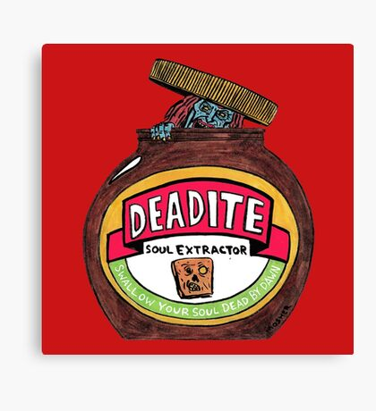 Deadite: The Evil Spread Canvas Print