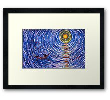 The Sea of Life Framed Print