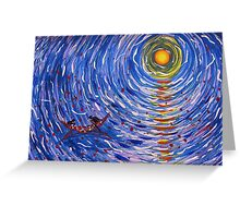 The Sea of Life Greeting Card