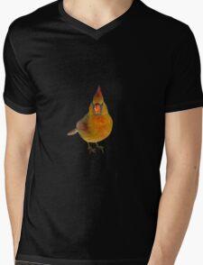 Angry Bird Mens V-Neck T-Shirt