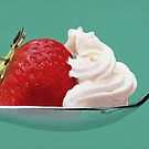 Strawberry & Cream by Scott Simpson