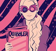 Luna Lovegood by DoctorSnippet