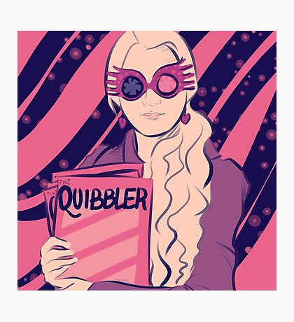 Luna Lovegood Photographic Print