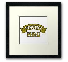 The Vincent HRD Framed Print