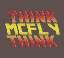 Think, McFly, Think  One Piece - Short Sleeve