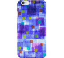Dancing over the Blue iPhone Case/Skin