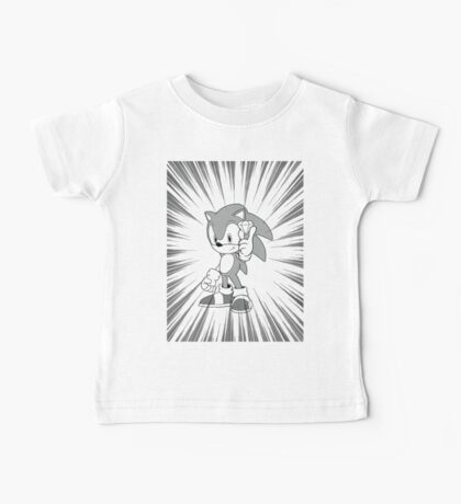 Sonic and the chaos emerald Baby Tee