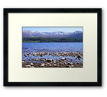 Loch Morlich & Cairngorm Mountains Framed Print