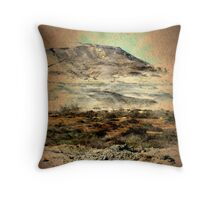 """Egyptian Mountains Landscape"" -Africa Series- Throw Pillow"