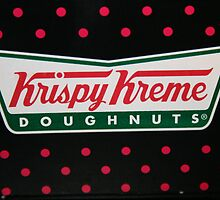 Krispy Kreme sign by lucyprest