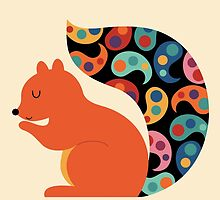 Paisley Squirrel by AndyWestface