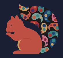 Paisley Squirrel Kids Clothes