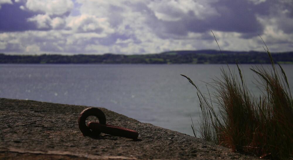 Iron link, Carrickfergus Castle by Ciaran Sidwell