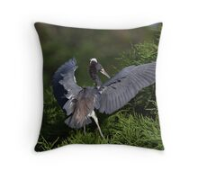 Flaps Down For Landing! Throw Pillow