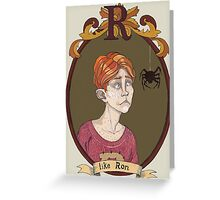 Ron Weasley Greeting Card