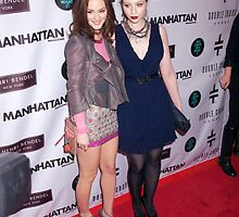 Leighton Meester and Michelle Trachtenberg  by xoxovisuals