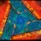 Abstract Red :: Yellow :: Blue by Silvia Ganora