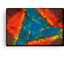 Abstract Red :: Yellow :: Blue Canvas Print