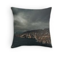 Lost Ship Throw Pillow