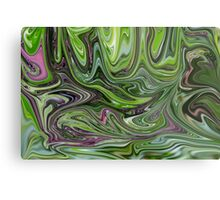 Abstract art from Nature - currents Metal Print