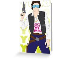 Han YOLO Greeting Card