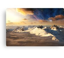 Asgard - Realm of the Gods Canvas Print