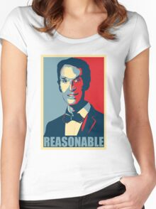Reasonable Man Women's Fitted Scoop T-Shirt