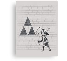 Banksy Triforce Canvas Print