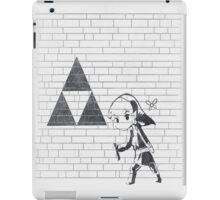 Banksy Triforce iPad Case/Skin