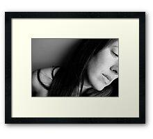 Loose Ends Framed Print