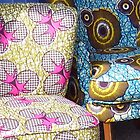 Comfortable chairs by Sue Payne
