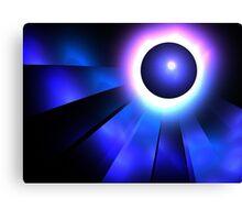 Neptune Eclipse Canvas Print