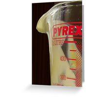 Pyrex Greeting Card
