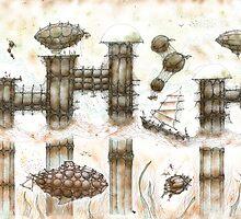 Nautilus City by Daniele Lunghini