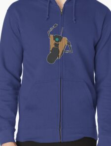 Claptrap Party Zipped Hoodie