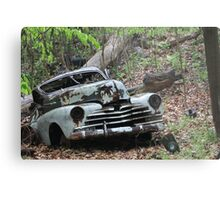May Old Motor Car Metal Print