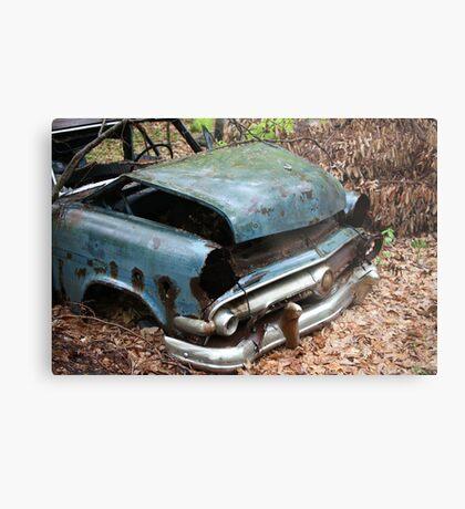 June Old Motor Car Metal Print