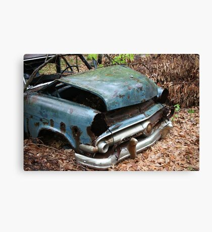 June Old Motor Car Canvas Print
