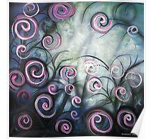 The Swirl garden Poster